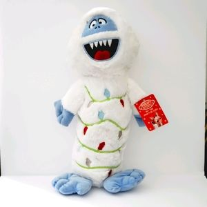 Bumble Abominable Snowman Plush Squeeky Toy